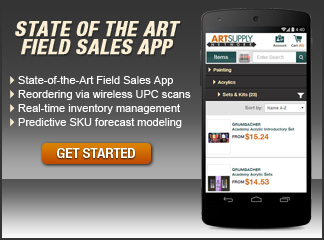 State of the art field sales app!